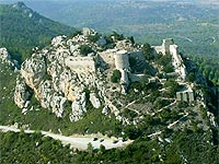 Kantara Castle from Air