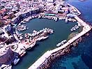 Kyrenia Harbour From Air