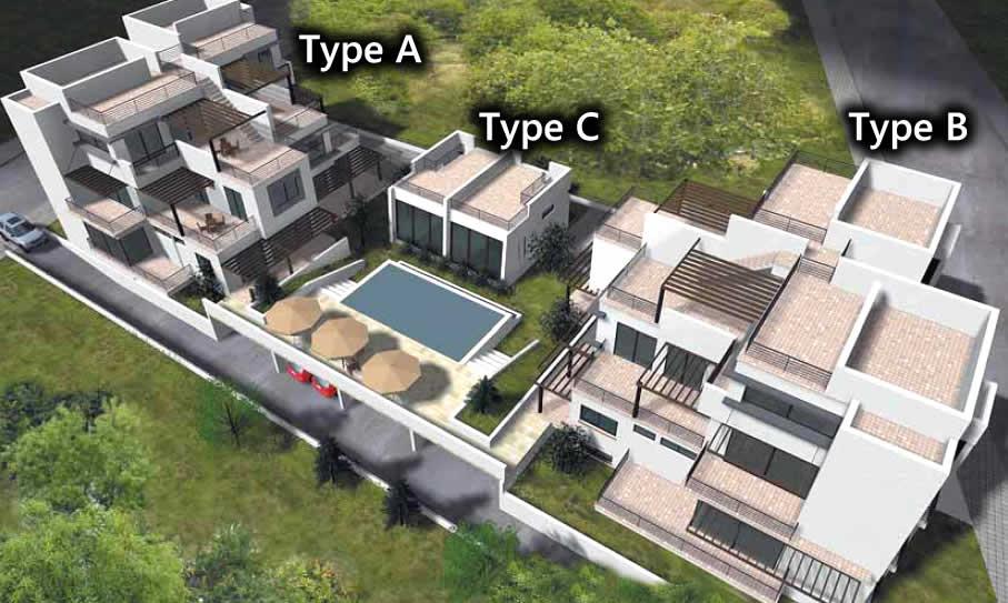 High Quality Blossom Kyrenia Apartment Types