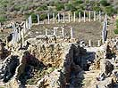 Salamis Ruins From Helicopter